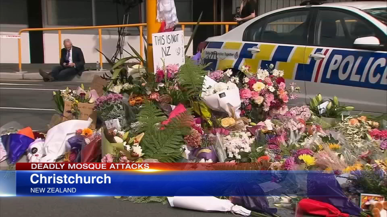 ANNE MARIE WATERS: REACTION TO NZ TERROR