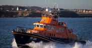 RNLI FALLS DOWN THE PC HOLE