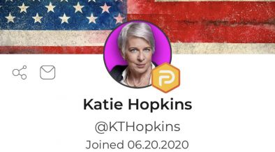 Katie Hopkins Exclusive: Parler Rising, Facebook Sinking