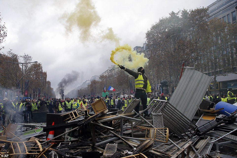 FRANCE IS ON THE VERGE OF AN ACTUAL REVOLUTION