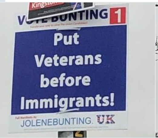 ELECTION POSTERS UNDER ATTACK!