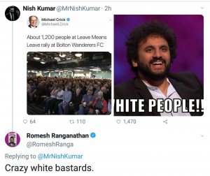 ARE SOME RACISTS BETTER THAN OTHERS...?