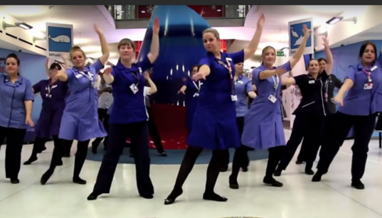 THE DANCING NURSES OF THE COVID WARDS