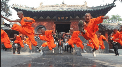 Why Kung Fu China does not go to War?