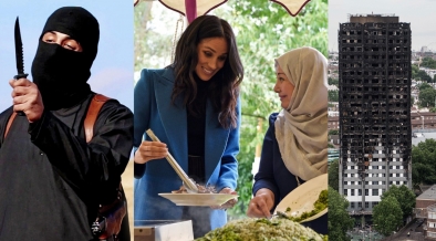 ISIS BEHEADINGS, THE GRENFELL TOWER AND MEGHAN MARKLE.