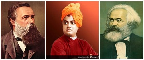 Vivekananda cannot be  desecrated by Marxism