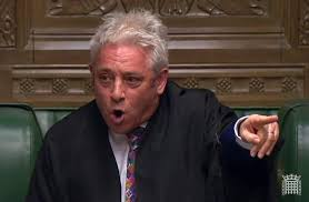 TO BERCOW WITH DISGUST