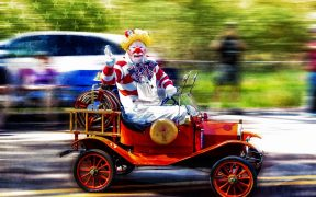 CLOWN CONVOY: THE DEMOCRATS DECIDE