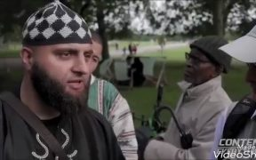"""I AM STILL A FREE MAN"" TAUNTS SPEAKER'S CORNER MUSLIM THUG"