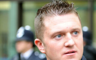 MEDIA CRUCIFIXION OF TOMMY ROBINSON