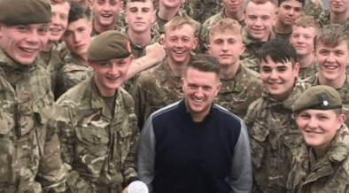 BRITISH ARMY vs TOMMY ROBINSON