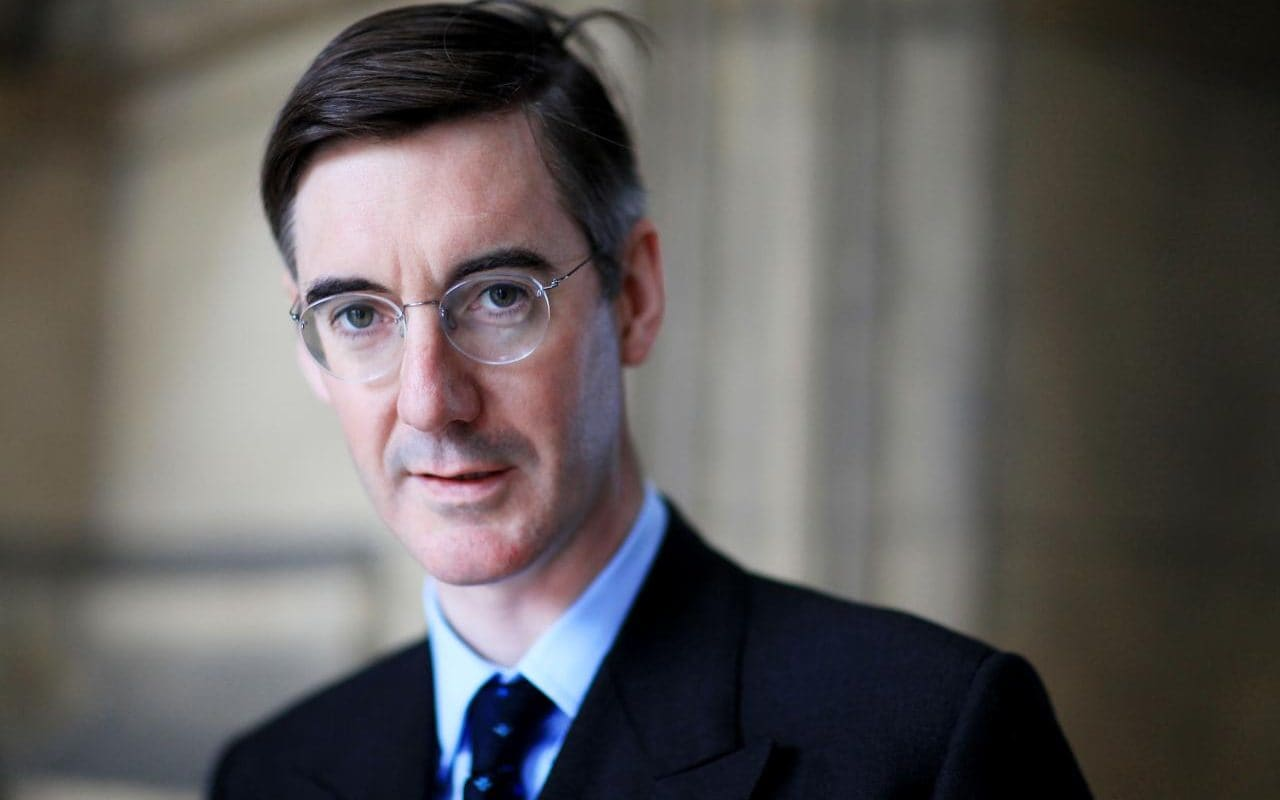 THE INCREDIBLE SHRINKING JACOB REES MOGG