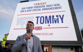 LEGACY MEDIA/ POLITICIANS CELEBRATE VIOLENCE AGAINST TOMMY ROBINSON