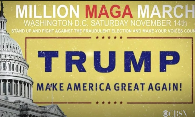 """""""Million MAGA March"""" Attacked By Far Left / BLM Thugs"""