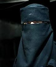 IN WHICH I AGREE WHOLEHEARTEDLY WITH THE MASKED MUSLIM WOMAN.