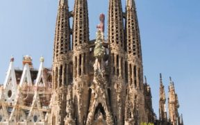 An image of Gaudi's Sagrada Familia