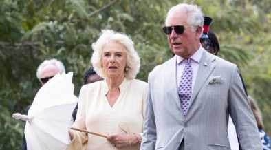 ISLAND PRISON VISIT FOR THE PRINCE OF WALES